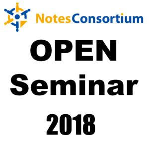 ノーツコンソーシアム オープンセミナー 2018(11/22) panagenda MarvelClient / ISW Kudos Boards のご紹介セッションを行います